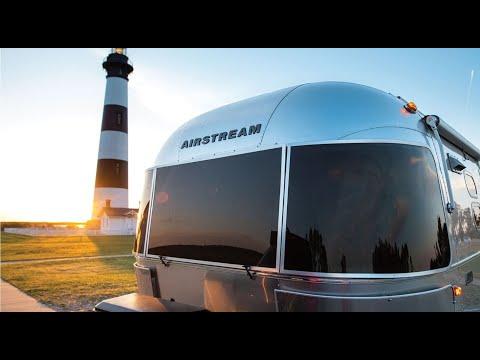 First Look 2020 Airstream Caravel 22FB Light Weight Luxury Travel Trailer Walk Through