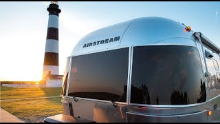 First Look 2020 Airstream Caravel 22FB Light Weight Luxury Travel Trailer Walk Through