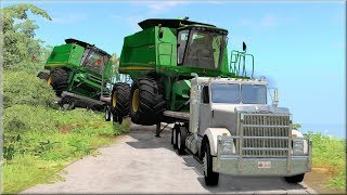 BeamNG Drive Heavy Hauling Accidents #1 - Insanegaz