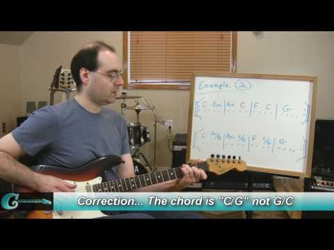 Guitar Theory: Voice Leading & Chord Inversions