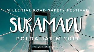SURAMADU - MILLENIAL ROAD SAFETY FESTIVAL SURABAYA JAWA TIMUR 2019   VIA VALLEN   GANDRUNG SEWU