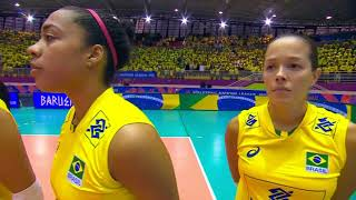 Women's VNL 2018: Brazil v Japan - Full Match (Week 1, Match 15)