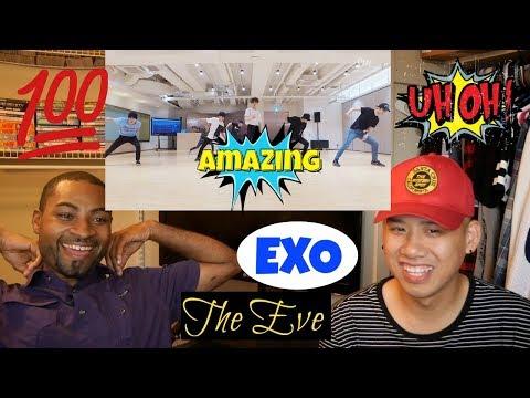 EXO - The Eve (전야) (前夜) Dance Practice ver. Reaction [BONUS Reaction to HENRY DEMO Ver.]