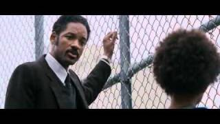 This is the scene where Chris (Will Smith)takes his son, to play ba...