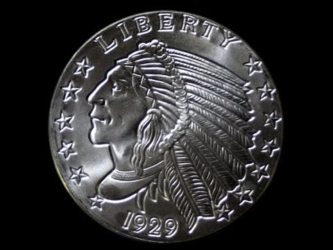 5OZ pure silver Amreica LIBERTY Coin 1929
