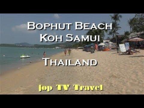 Bophut Beach Koh Samui (Thailand) Vacation Travel Video Guide Jop TV Travel 4k