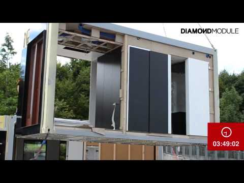 Diamond Module - Modular Building Assembly