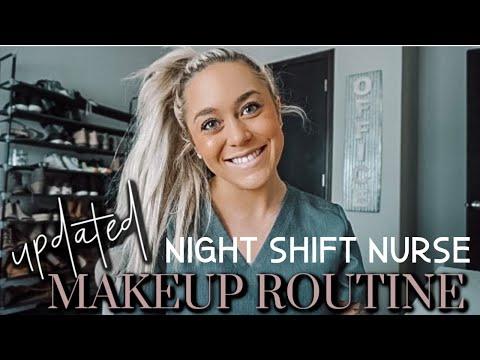 NIGHT SHIFT NURSE MAKEUP ROUTINE | CHATTY GRWM!