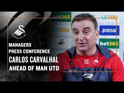 Press Conference LIVE: Carlos Carvalhal ahead of Manchester United.
