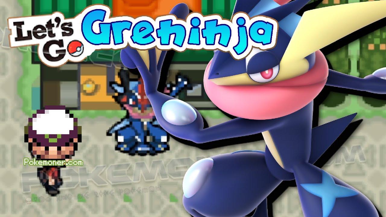 Gba Pokemon Let S Go Greninja Pokemoner Com