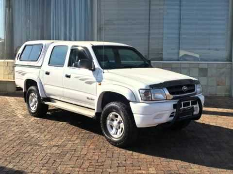 Toyota Hilux For Sale On Autotrader >> 2004 TOYOTA HILUX DOUBLE CAB 2700 Auto For Sale On Auto Trader South Africa - YouTube