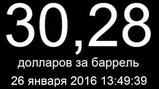 Курс доллара 26 января 2016 онлайн