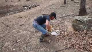 Catching 6-foot Rattlesnake