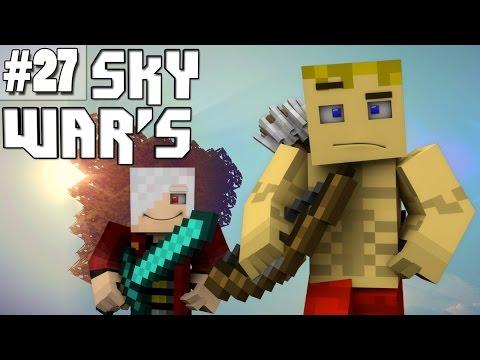 Minecraft Sky War's #27 VC O AJUDANTE DOS TIAGOVSKI WAR'S ! C/NightmareVC