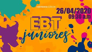 Escola Bíblica de Juniores | 26/04/20