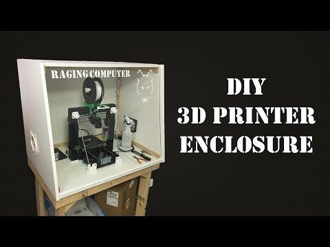 DIY 3D Printer Enclosure Build Video
