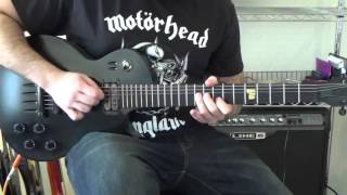 Pantera - Drag The Waters Solo Cover