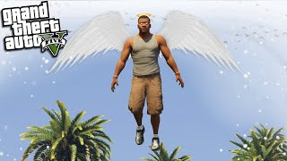 FRANKLIN goes to HEAVEN (GTA 5 Mods)