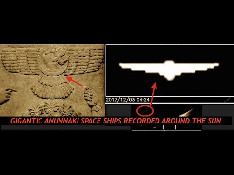 Gigantic Anunnaki Space Ships Recorded Around the Sun?  You