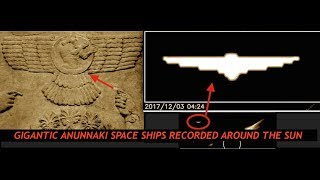 Gigantic Anunnaki Space Ships Recorded Around the Sun?  You Decide
