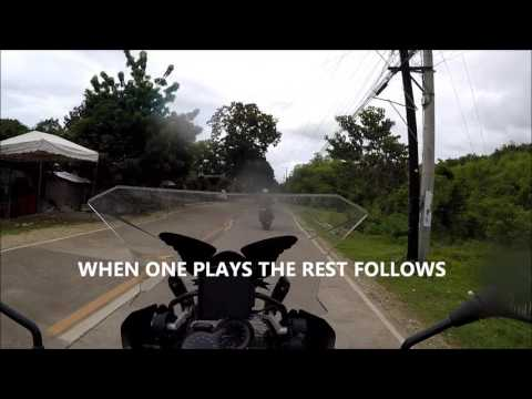 OnBoard R1200GSA - Bohol Ride with the Guys Part 1