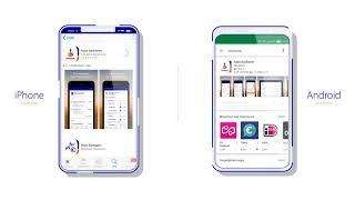 Downloaden van de  Rabo Bankieren App