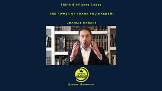 The Power of Thank You Hashem With Charlie Harary