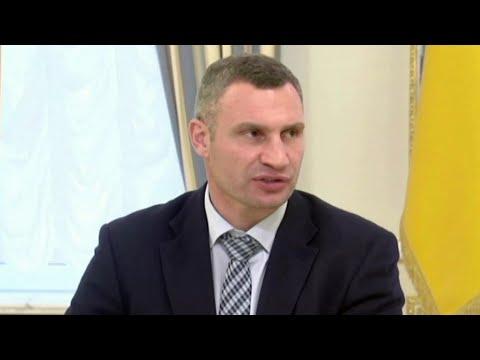 Администрация президента Украины попросила правительство уволить мэра Киева Виталия Кличко.