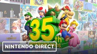 Super Mario Bros. 35th Anniversary Nintendo Direct