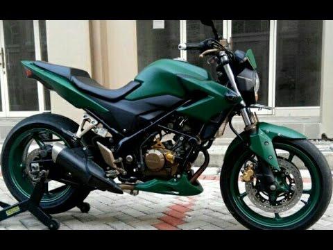 Cah Gagah | Video Modifikasi Motor Honda CB150R Street Fighter Keren Terbaru Part 2