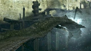 Shadow of the Colossus Hydrus Boss Fight - 7th Colossus on PS3