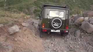 Vilis and roads of Aragats