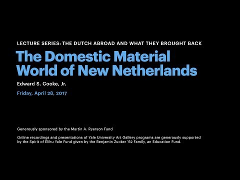 The Domestic Material World of New Netherlands