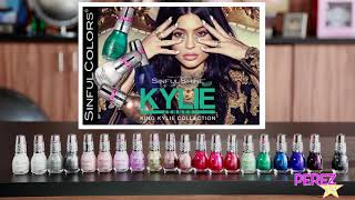SinfulColors Kylie Jenner Nail Polish Live Application + Swatches