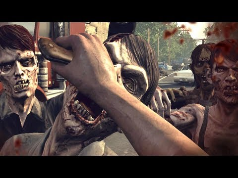 The Walking Dead: Survival Instinct IS THE WORST GAME EVER.