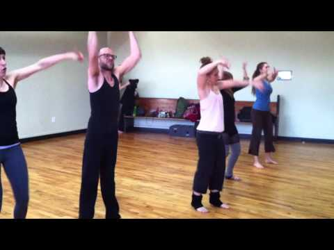 """Jazz Hands class dances to Dolly Parton's """"9 to 5"""" / choreography by Robin Henderson"""