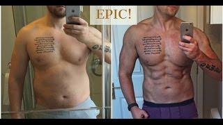 Inspiring 12 Week Natural Transformation | GAINS muscle & Loses Fat