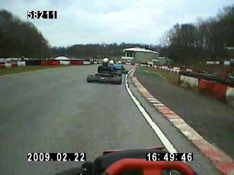 4 Laps - Buckmore Park Kart Track - Chatham - Kent - Club100 Open Enduro - Round 1 - 22Feb09