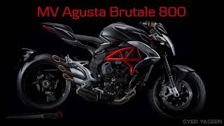 MV Agusta BRUTALE 800_super bike overview and technical specifications