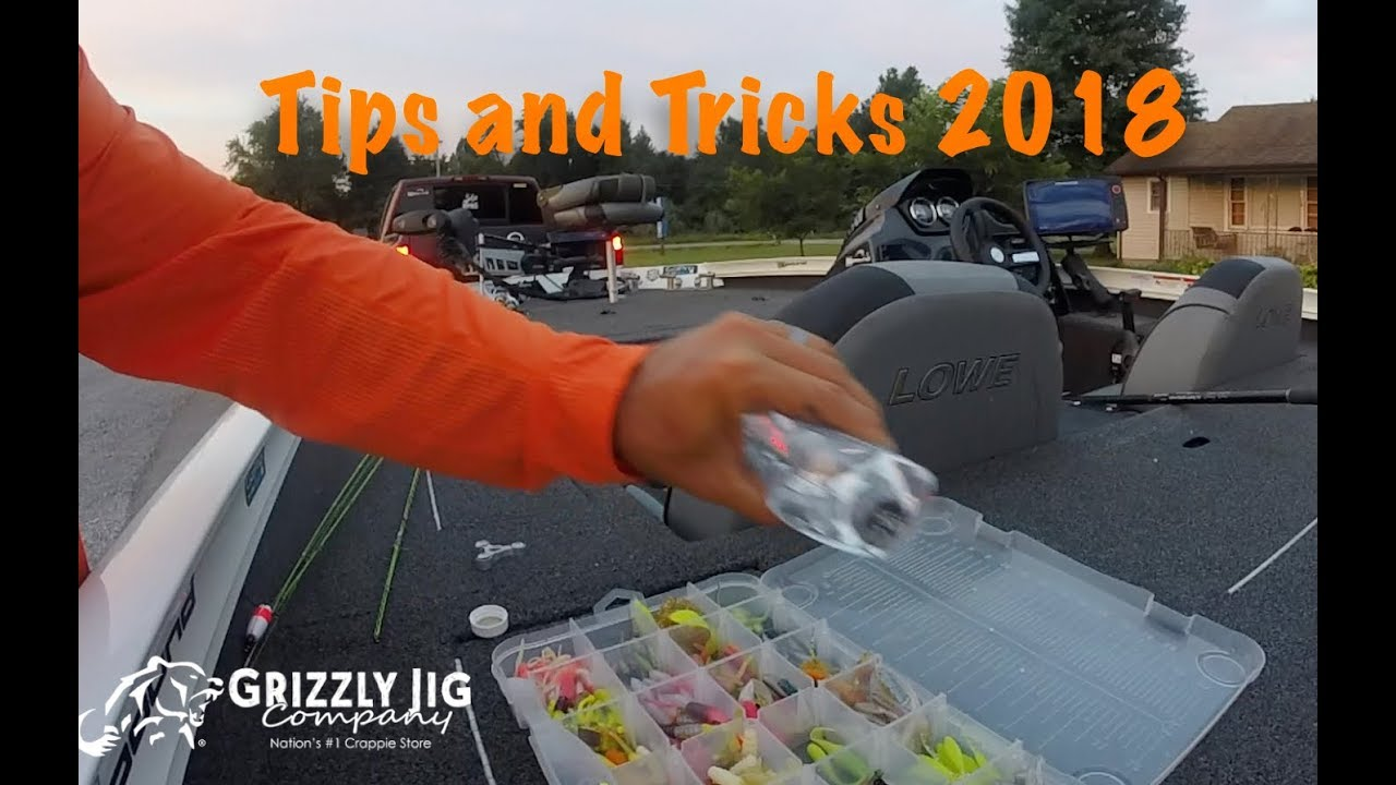 Tips for crappie fishing 2018