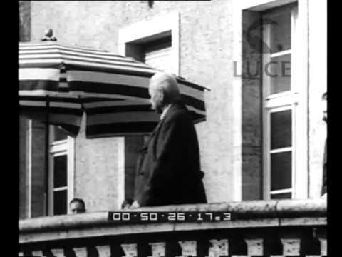 Neudeck (Prussia). Gli 86 anni del presidente Hindenburg trascorrono patriarcalmente nella