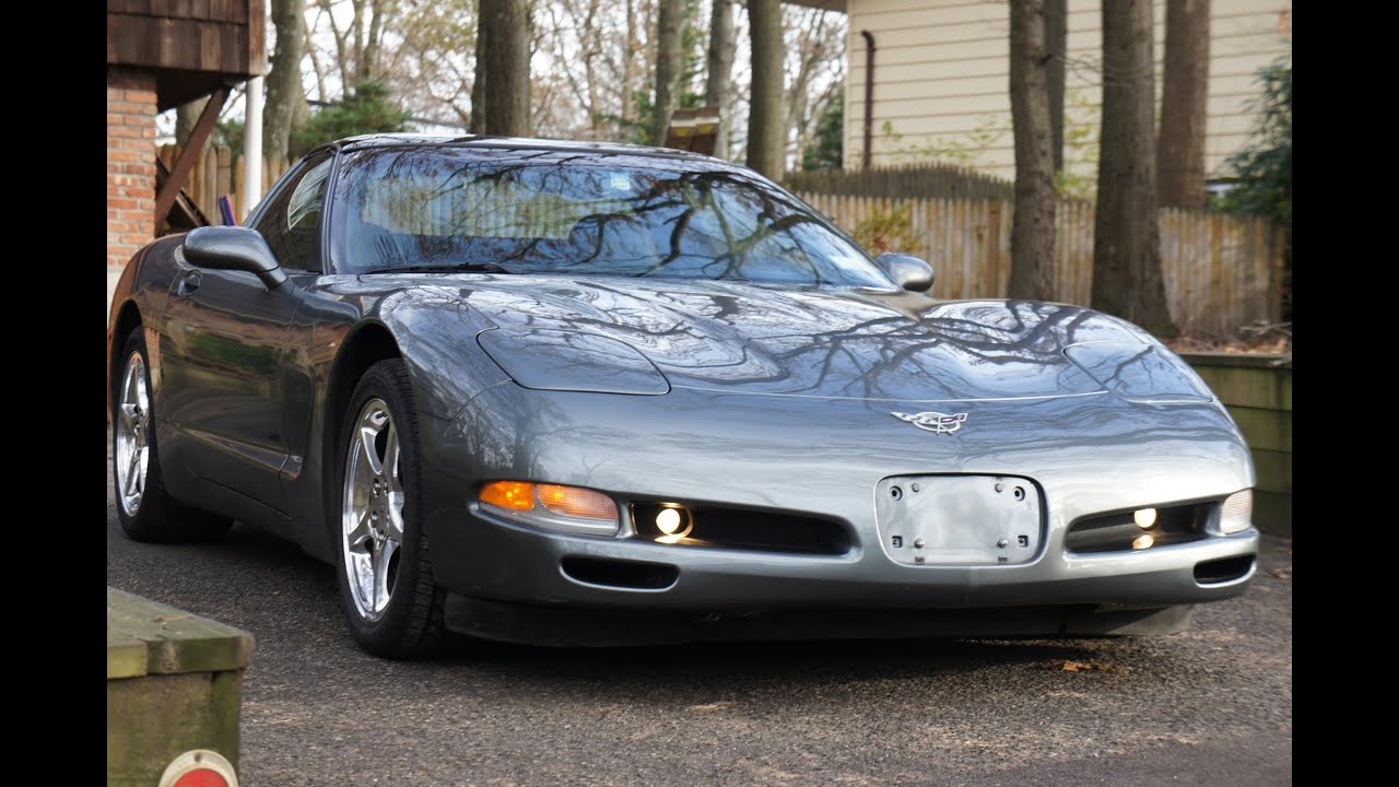 Corvette For Sale >> 2003 Chevy 50th Anniversary Corvette Coupe For Sale~Automatic~Low Miles~Heads Up Display - YouTube