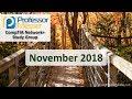 Professor Messer's Network+ Study Group - November 2018