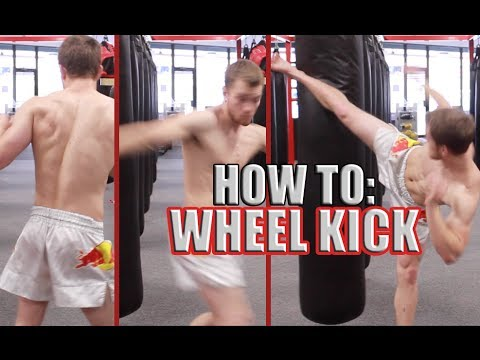 How To Wheel Kick Or Spinning Back Heel Kick