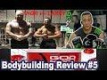 Hafthor vs Larry, Farid Bang und Zec+ vs Youtuber, Gaming Booster ?! - Bodybuilding Review #5