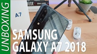 Samsung Galaxy A7 2018 - Unboxing