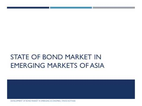 Development of Bond Market in Emerging Economies Video