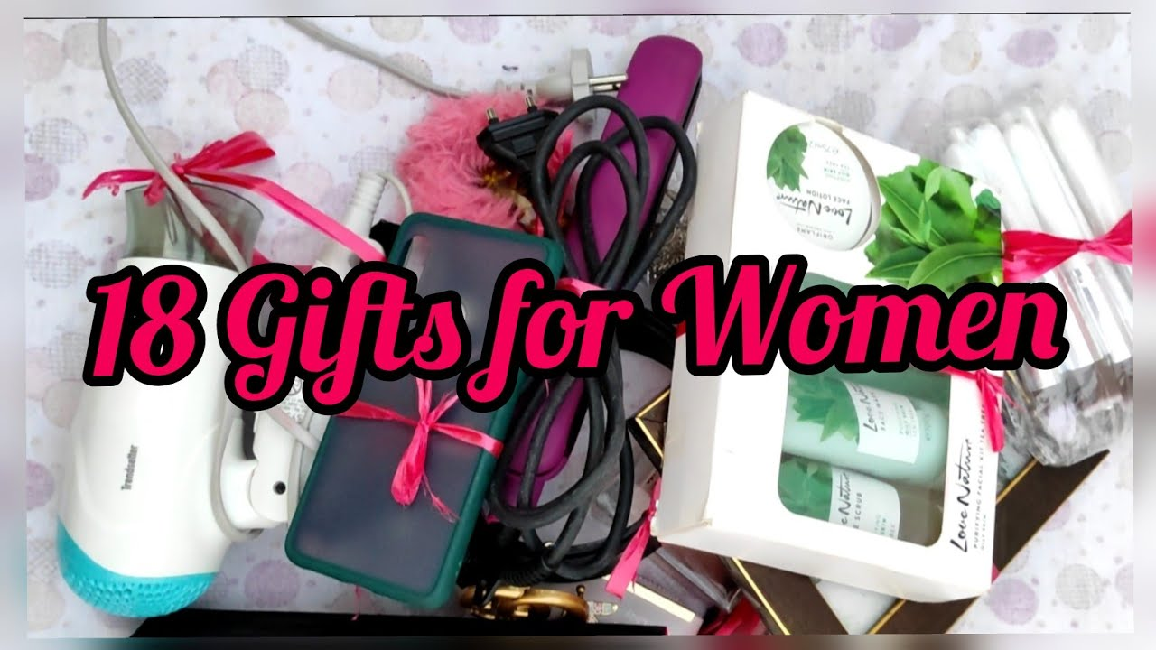 18 Gifts On 18th Birthday 18 Gift Ideas For Women Gift Ideas For Birthday Gifts For Girlfriend Diy Youtube