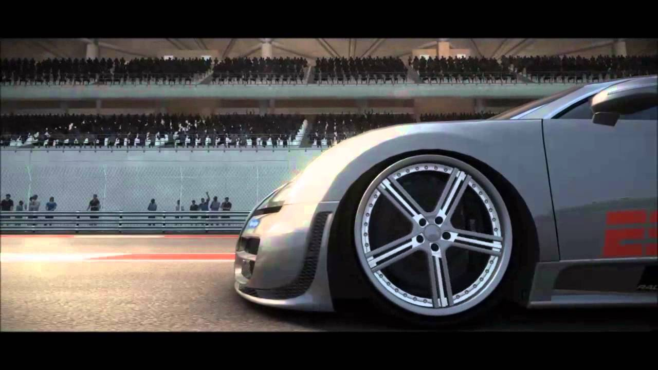 grid 2 bugatti veyron high speed brake slowmotion youtube. Black Bedroom Furniture Sets. Home Design Ideas