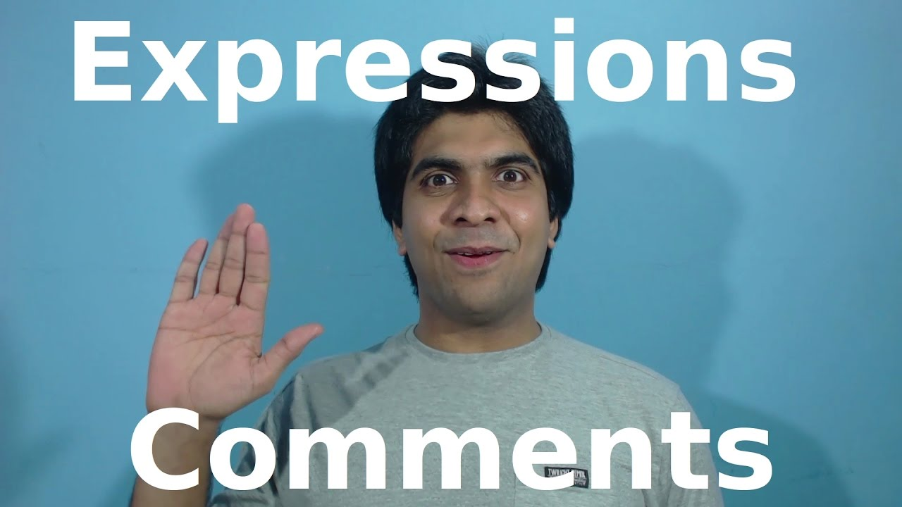 Expressions and Comments : Lisp Tutorial (Racket) #1 - YouTube